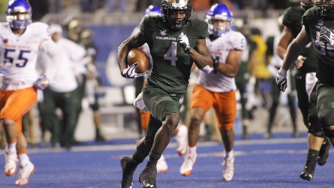 Can Michael Gallup and the rest of the CSU football team run away from Boise State for the Mountain West Mountain title this year?