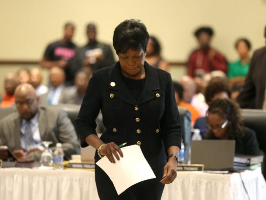 FAMU President Elmira Mangum was voted out in September