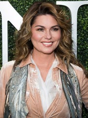 "FILE - In this Aug. 28, 2017 file photo, Shania Twain attends the opening night ceremony of the 2017 U.S. Open Tennis Championships in New York. Twain's, ""Come on Over,"" sold 20 million albums and two Grammys; it was nominated for album of the year but lost the Grammy to Lauryn Hill's ""The Miseducation of Lauryn Hill"" in 1999."
