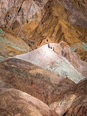 Artists Palette at Death Valley National Park.