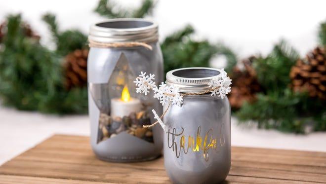 Christmas Diy Mason Jar Candles