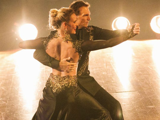 """America's Switch Up"" has really changed up the competition on ""Dancing With the Stars."" Shown is Doug Flutie of Melbourne Beach and Peta Murgatroyd. Flutie's partner is normally Karina Smirnoff."