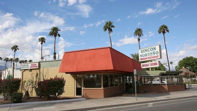 The Mexican restaurant El Rincón Norteño in Indio.