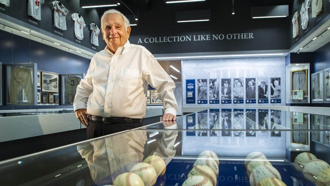 Avron B. Fogelman, former Kansas City Royals owner and longtime Boca Raton resident, has donated his private sports memorabilia collection to Florida Atlantic University. The Avron B. Fogelman Sports History Museum at the Schmidt Family Complex for Academic and Athletic Excellence offers visitors a visual progression of American sports alongside vignettes of the country's growth.