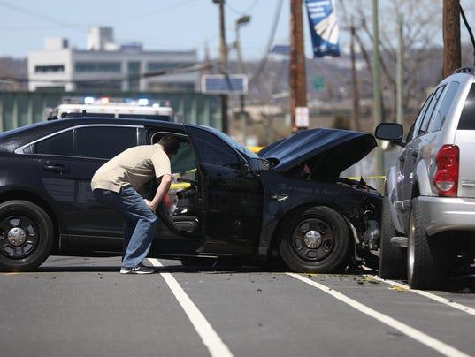 3 car crash nj