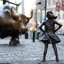 Will New York invite the 'Fearless Girl' statue to stay on Wall Street?