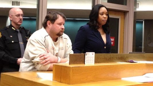 Robert Palmer appears in court on March 13.