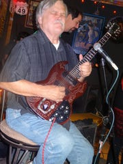 Col. Bruce Hampton Day shown playing at Bradfordville Blues Club, died Monday while performing in Atlanta.