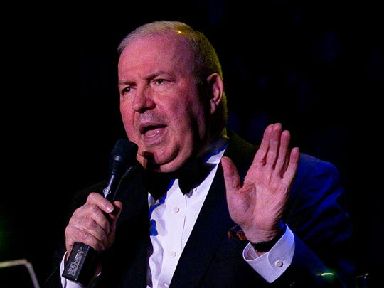 Frank Sinatra Jr. performs in 2011 at the McCallum Theatre.