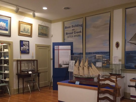 The maritime portion of the Bethel Museum.