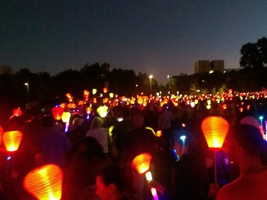 The Leukemia & Lymphoma Society's Light The Night Walk in Cleveland helps fund life-saving research and support families dealing with cancer.