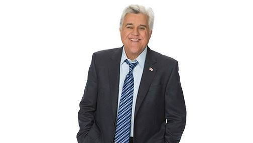 Jay Leno performs Feb. 16 at the Sunrise Theatre in Fort Pierce.