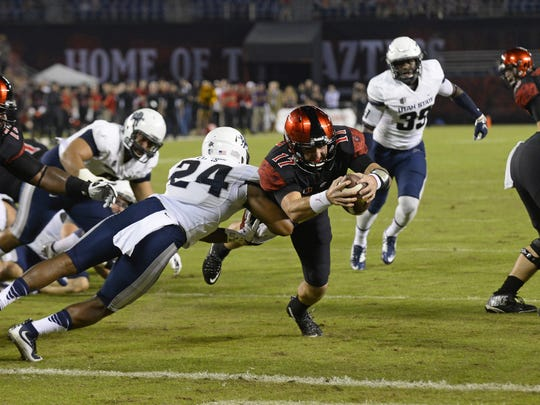 After upsetting then-No. 21 Boise State, the Aggies followed it up with a 48-14 loss at San Diego State on Friday. The Aggies look to regroup against Wyoming at home Friday night.