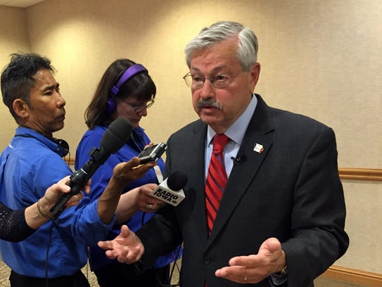 Gov. Terry Branstad announced plans last year for Iowa's