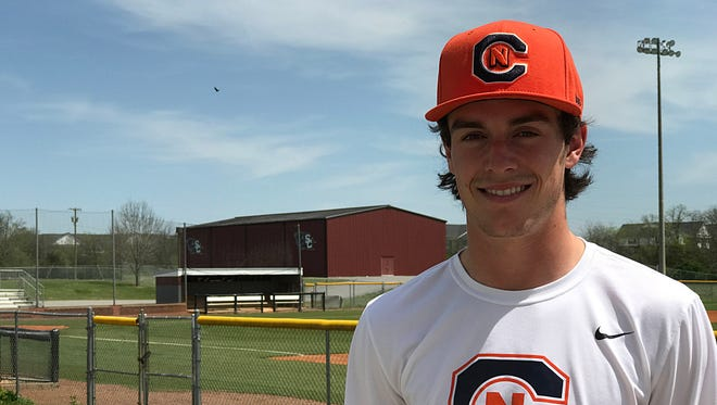 Station Camp senior Tyler Thompson, who was the starting quarterback for the past two seasons, signed with Carson-Newman to play baseball instead in college.