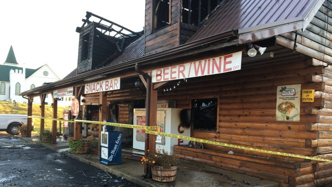 A fire at the Greenville Grocery store broke out around 3:20 a.m. on Saturday, destroying the business.