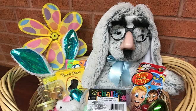 Easter falls on April 1, and The News-Star is giving away a basket full of toys and candy.