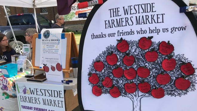 The Westside Farmers Market hosts Walk and Talk with a Doc, a Facebook Live conversation and a stroll with a health professional.