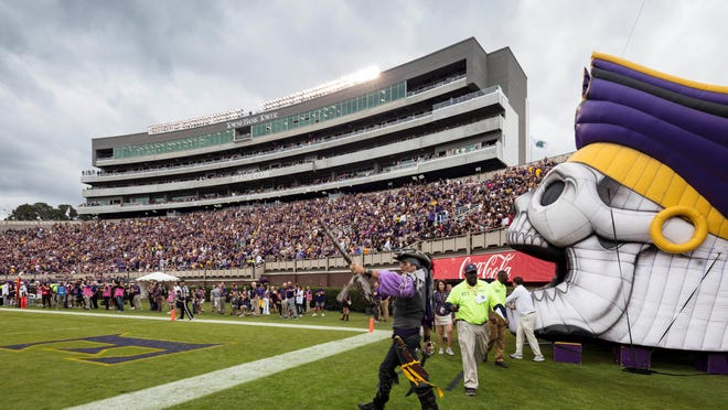 In 2019, the ECU football team had $12,533,974 in total operating expenses.