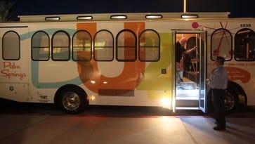 R.I.P. Buzz bus: Palm Springs kills free downtown trolley service