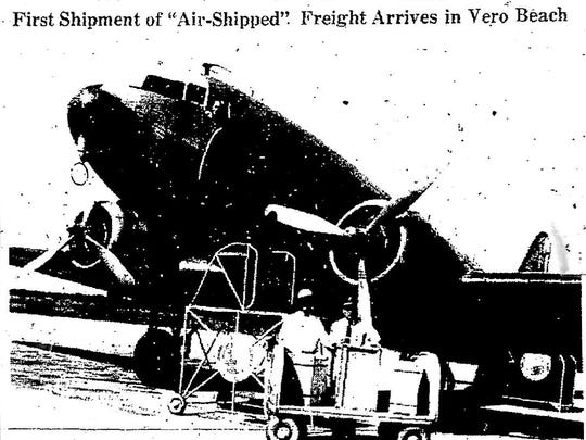 Airfreight: Nov. 1, 1946 Press-Journal.