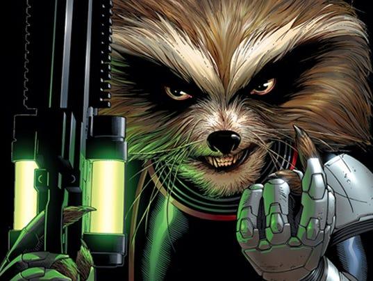 Rocket Raccoon movie