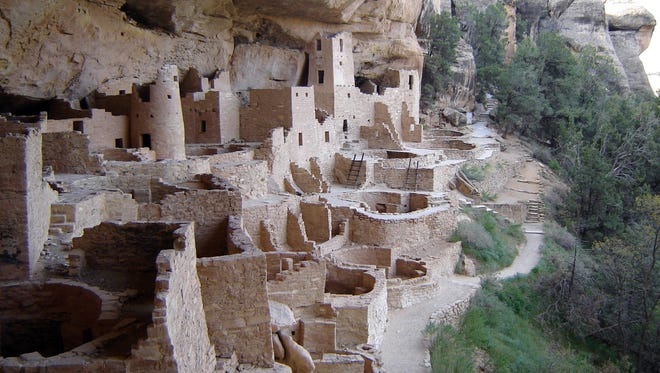 """In southwest Colorado, Mesa Verde National Park was established in 1906 by President Theodore Roosevelt to """"preserve the works of man."""""""