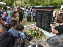 Issei Monument unveiled