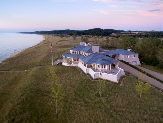 The 5,865-square-foot mansion adjoins a 1,304-square-foot