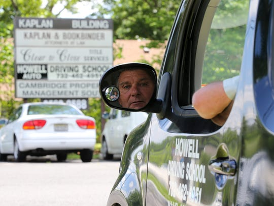 Peter Ciappa, president of Howell Auto Driving School, a 55-year-old Howell-based business which offers an MVC-approved Defensive Driving Course as well as refresher driving courses and other services, talks about his business on Route 9 in Howell, NJ Monday June 4, 2018.