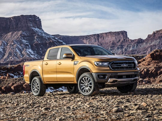 Ford Ranger with the FX4 Off-Road package.