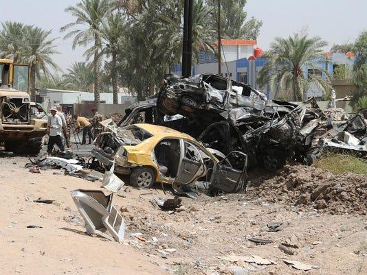 IRAQ-CONFLICT-BOMBING