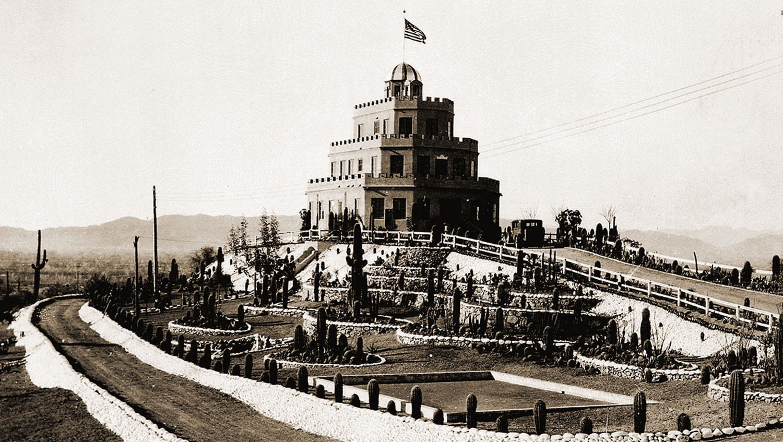 The history of Phoenixs three castles