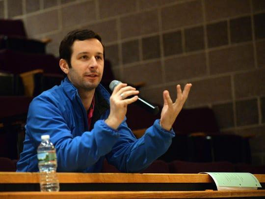 Cumberland County College math professor Steve Donahue