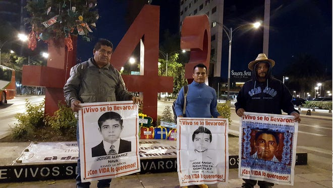 Parents of some of the missing Ayotzinapa students recently worked to bring awareness to their ongoing plight to find their children.