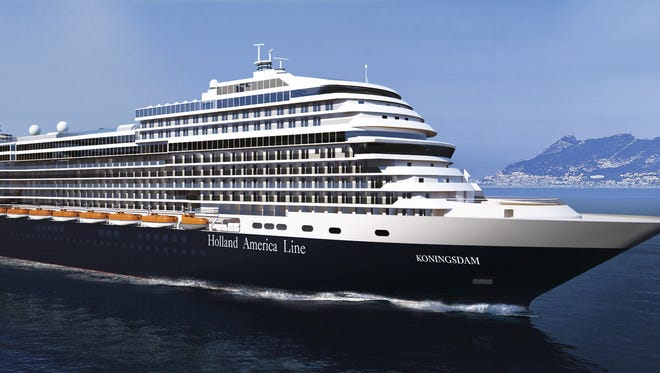 Holland America's next ship, the Koningsdam, will debut in 2016.