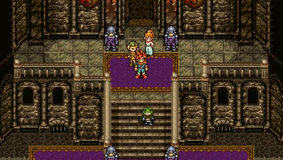 A screenshot of the video game 'Chrono Trigger.'