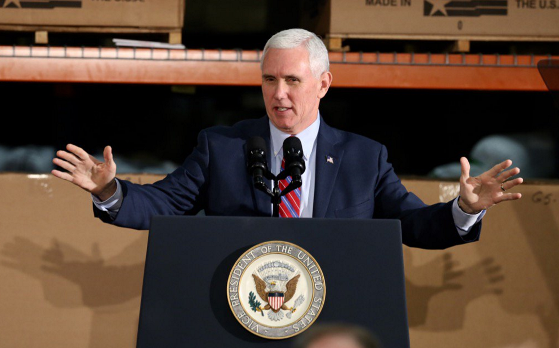 Pence supports GOP healthcare bill in Kentucky pics
