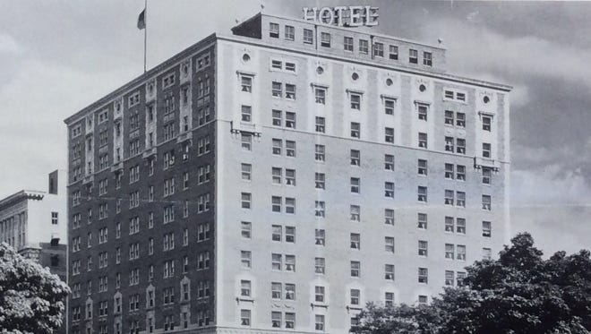 The Hotel Olds, as seen in the 1930s.