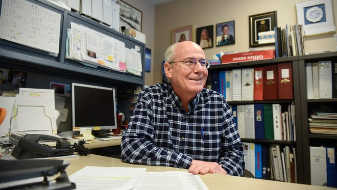 Boys & Girls Clubs of Central Minnesota Director Mark Sakry recalls his favorite memories during an interview in his office Tuesday, Jan. 16, in St. Cloud.