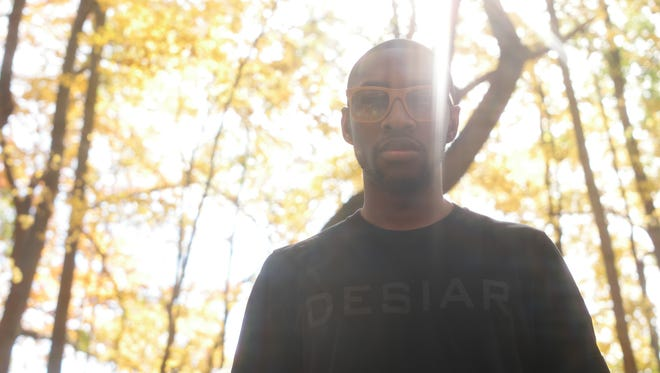 Jamal Robinson began customizing sunglasses while he was still a college student. Now he designs and makes his own sunglasses through his company, DESIAR, based in Fort Wayne.