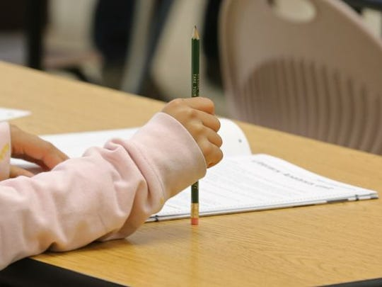 Requiring students to take standardized tests that