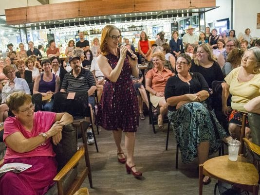 Barbara hosting book club