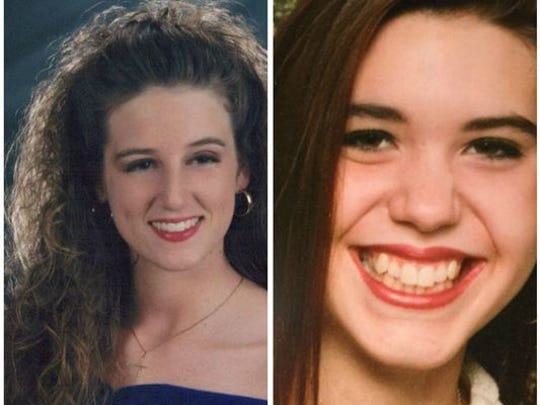 Melissa Chilton, left, and Tiffany Campbell were found