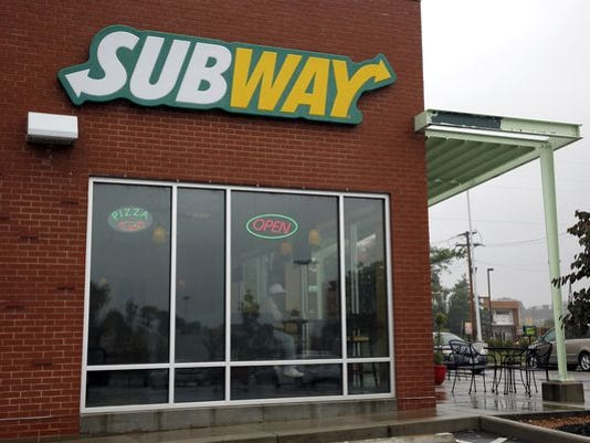 A Subway restaurant in St. Louis.
