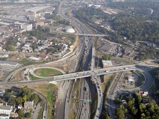 Hopple Street interchange.