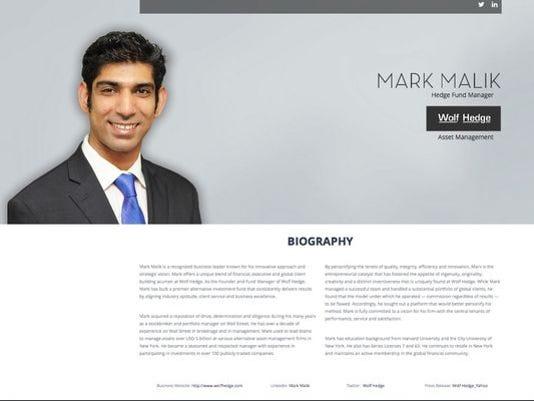 Mark Malik was convicted of fraud