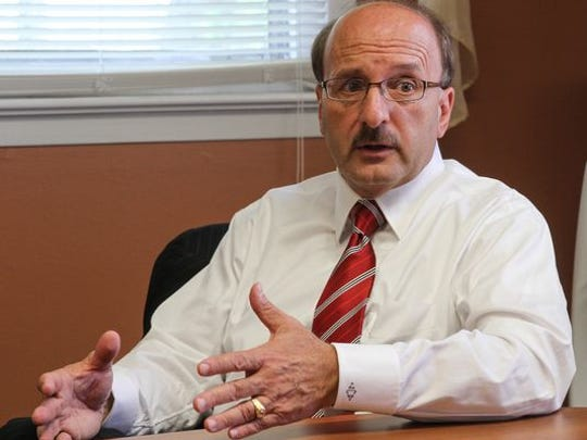 Ocean County Prosecutor Joseph D. Coronato in this