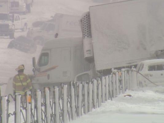 One year later: 193 vehicle pile-up on I-94