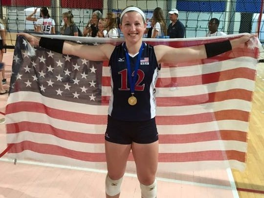 Lily Johnson was a big-time player on the U.S. Collegiate National Team that claimed a gold medal at the Global Challenge in Croatia.